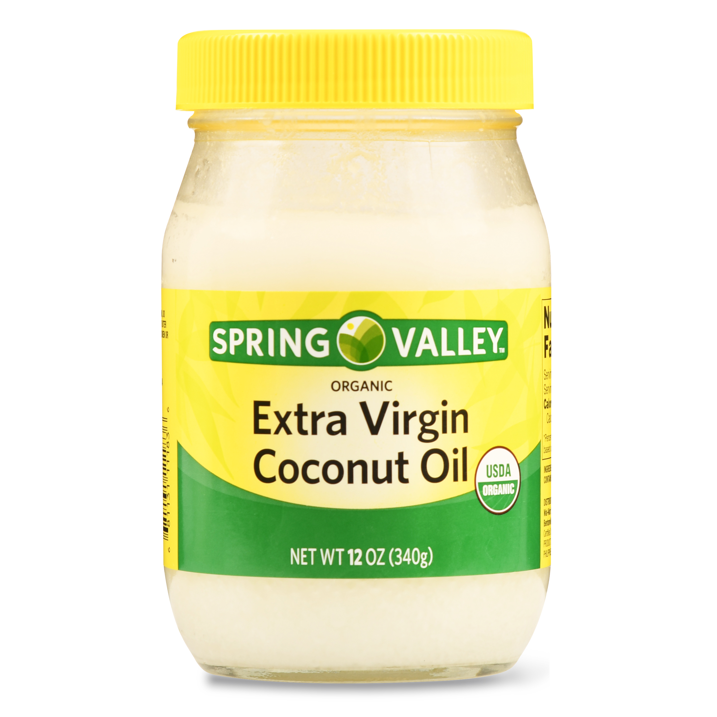 Spring Valley Organic Extra Virgin Coconut Oil, 12.0 Oz