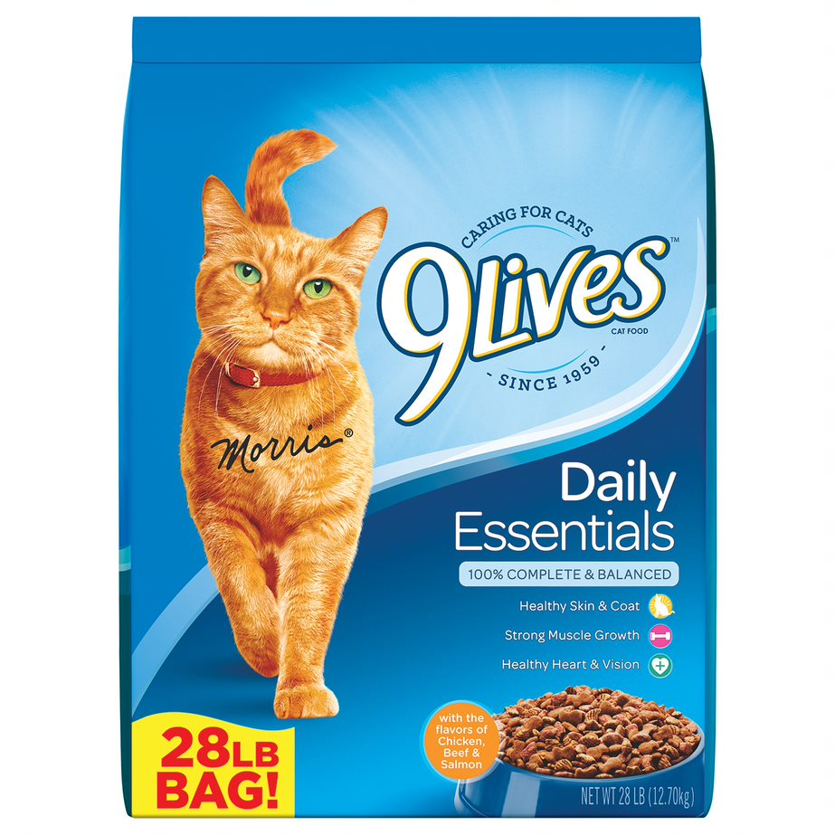 9Lives Daily Essentials Dry Cat Food, 28 lb by Big Heart Pet Brands