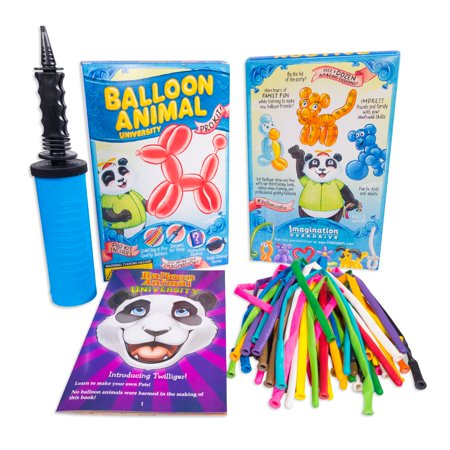 Balloon Animal University PRO 50 Kit. You Can Learn to Make Balloon Animals - Thank You Balloon