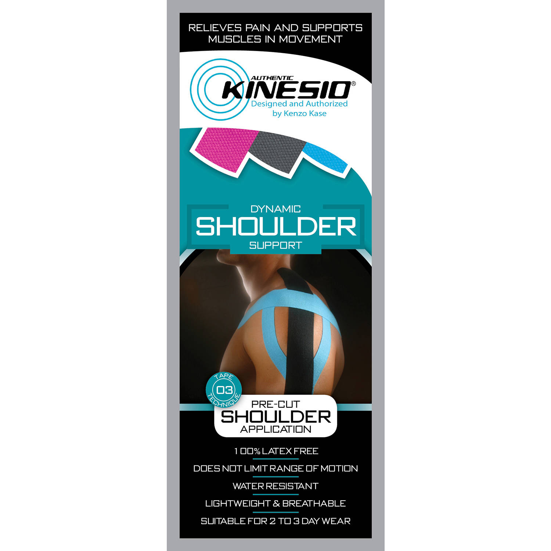Kinesio Tape pre-cuts, shoulder, each