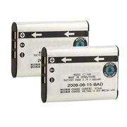 Battery for Olympus Li60B (2-Pack) Replacement Battery