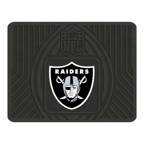 FanMats NFL Utility Mat, Oakland Raiders - SPORTS LICENSING SOLUTIONS