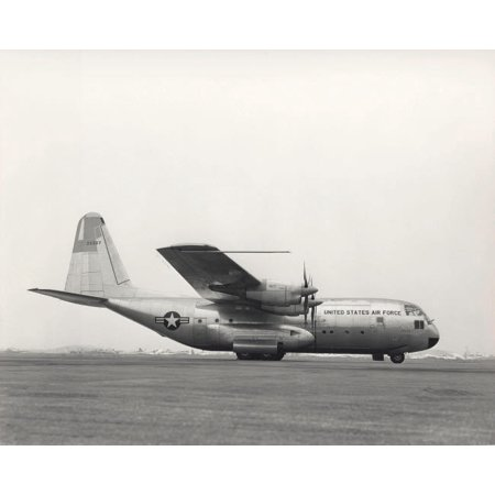 The YC-130 first flight from Burbank California Poster Print by Stocktrek Images - Halloween In Burbank California
