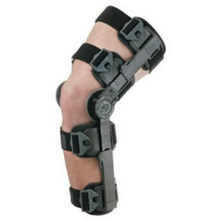 e891fe5437 Breg T-Scope ROM Post Op Hinged Knee Brace - Walmart.com