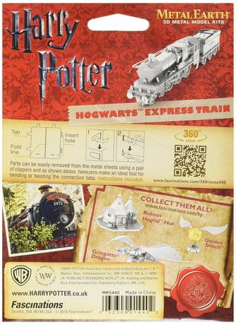 Fascinations Metal Earth Harry Potter Hogwarts Express Train 3d