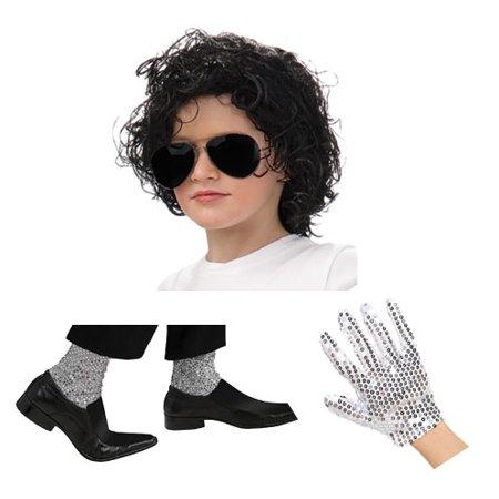 Kids Michael Jackson Dress Up Set - Michael Jackson Kids Glove
