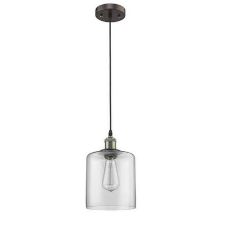 - CHLOE Lighting OWEN Industrial-style 1 Light Rubbed Bronze Ceiling Mini Pendant 7