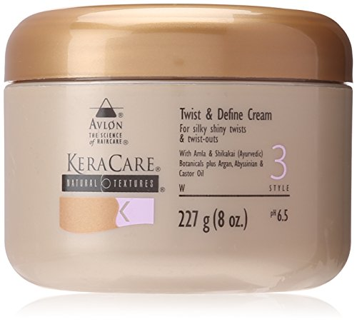 Avlon Keracare Natural Textures Twist and Define Cream, 8 Ounce