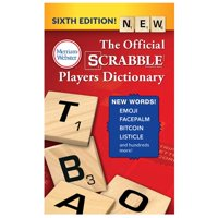 The Official Scrabble Players Dictionary (Edition 6) (Paperback)