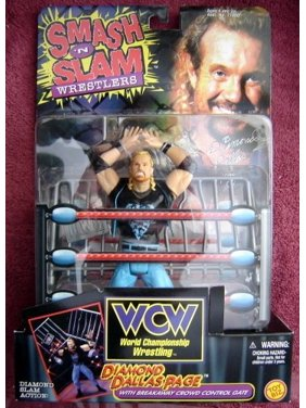 Diamond Dallas Page Wrestling Figure Smash 'N Slam WWF WWE WCW NWO