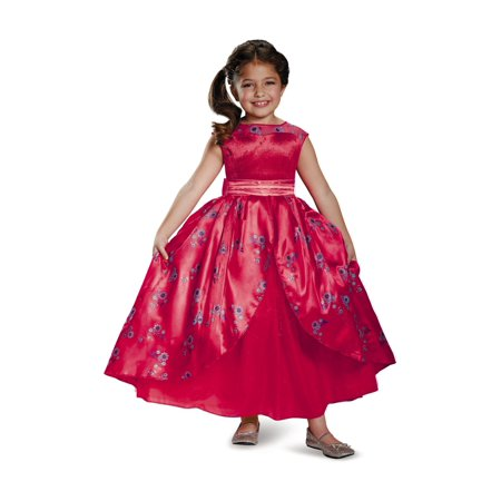 Disney Elena of Avalor Princess Elena Ball Gown deluxe Girls Costume - Costume Ball Gown