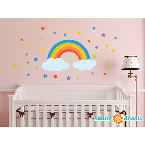 Sunny Decals Rainbow Wall Decal