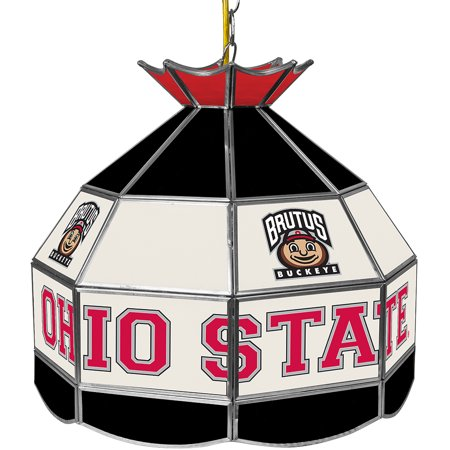 The Ohio State Glass Tiffany Lamp - 16 inch diameter,