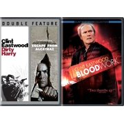 3 Films of Clint Eastwood Bloodwork   Dirty Harry & Escape from Alcatraz Movie Collection Film Favorites pack by