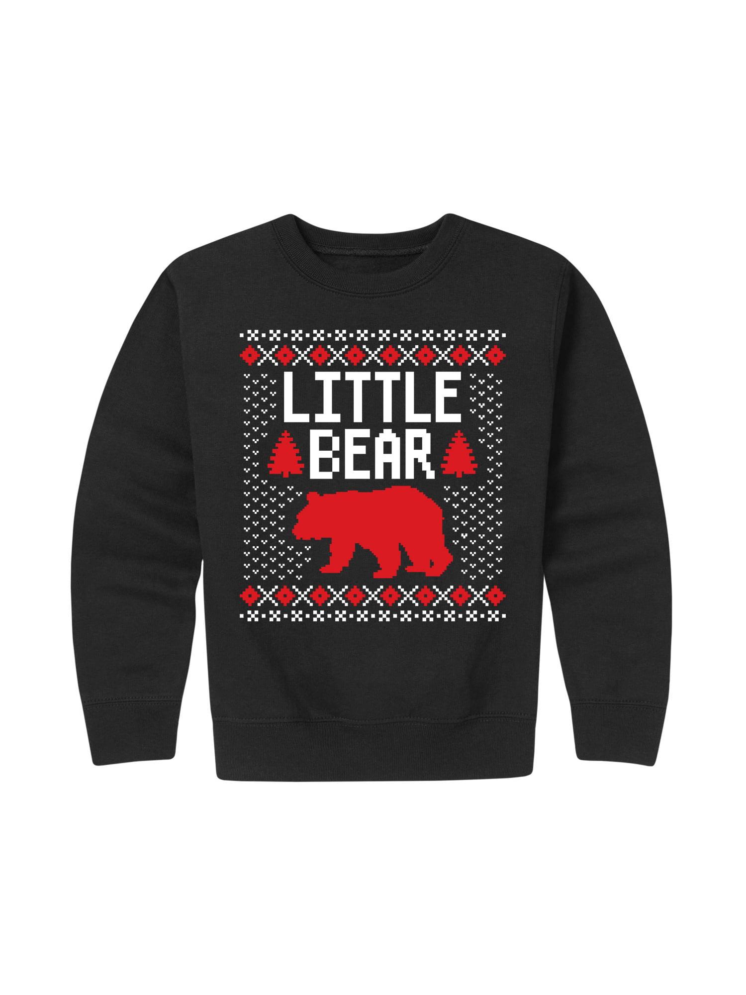 Little Bear Ugly Style - Toddler Crew Fleece
