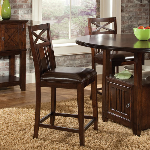 Standard Furniture Sonoma 24'' Bar Stool with Cushion (Set of 2)