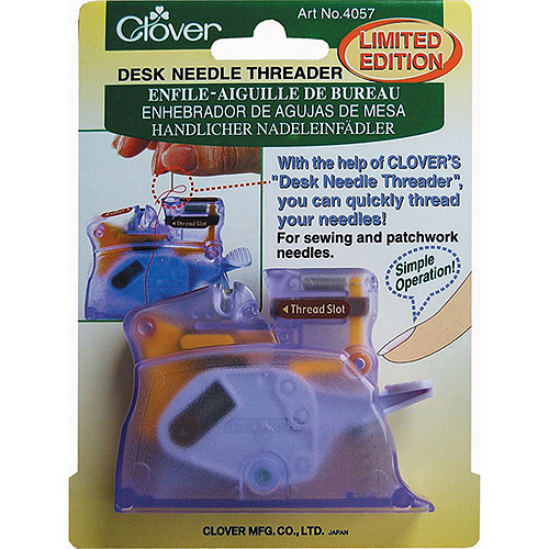 Clover Desk Needle Threader Is The Ultimate Threader