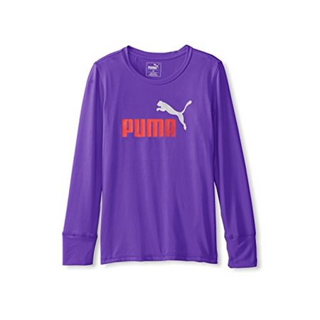 Puma Big Girls Forever Faster Tee   Electric Purple   Large