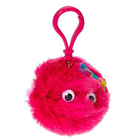 Claire's Girl's Hot Pink Googly Eyed Pom Keyring Clip Flavored Lip Gloss](Googly Eyes Halloween Makeup)