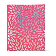Pen+Gear 2-Pocket Poly Folder, Sparkling Flowers, 3 Hole Punch, 1-Folder, Letter Size