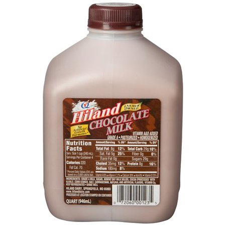 Hiland Chocolate Milk  Oz