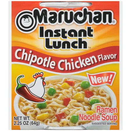 Maruchan Instant Lunch Chipotle Chicken Soup, 2.25 oz