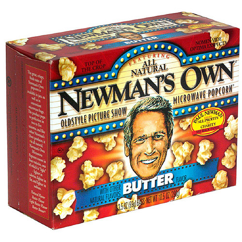 ***Discontinued***Newman's Own Gluten Free Butter Popcorn, 3CT (Pack of 12)