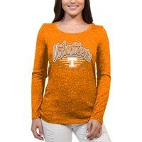 Tennessee Volunteers Funky Script Women'S/Juniors Team Long Sleeve Scoop Neck Shirt