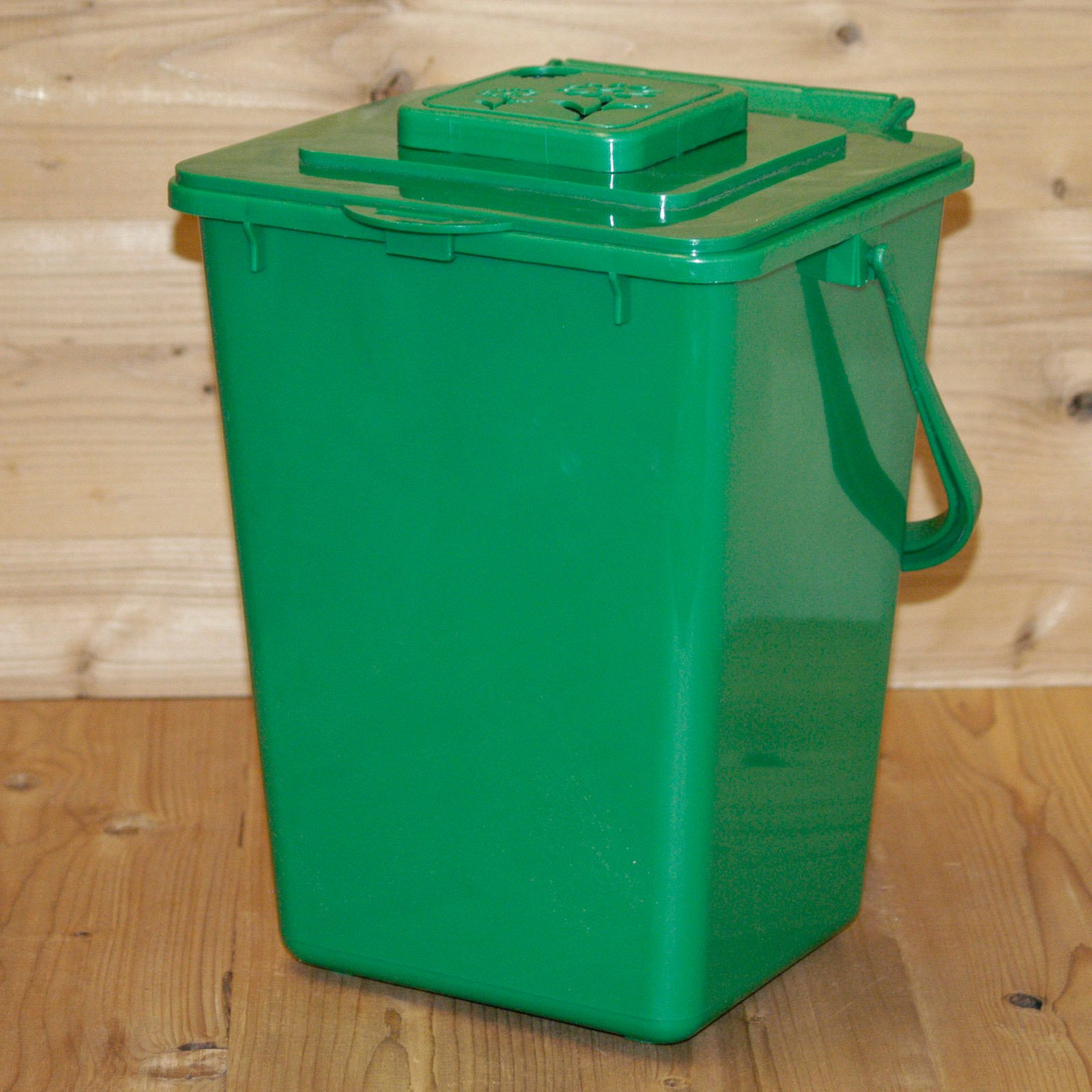 Superior Eco Kitchen Compost Pail With Carbon Filter, Green   Walmart.com