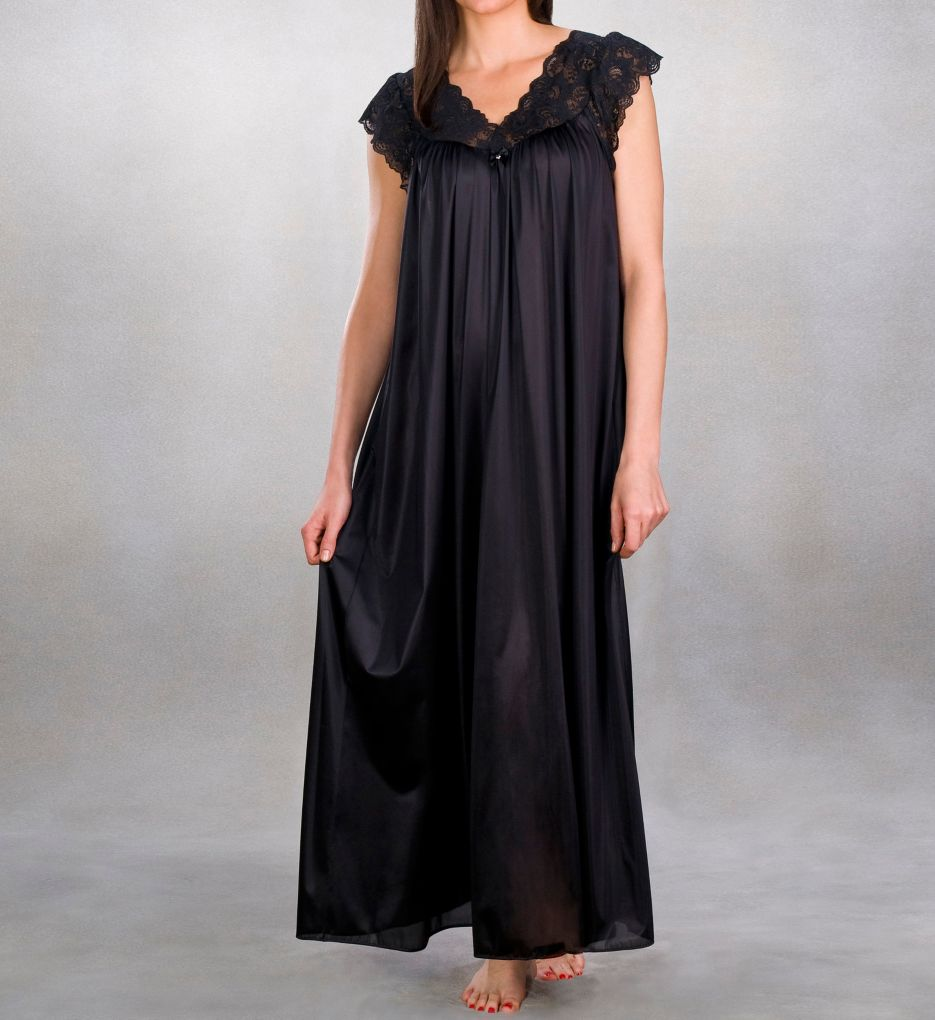 "Shadowline Silhouette Nightgown Style 32737 53/"" Long"