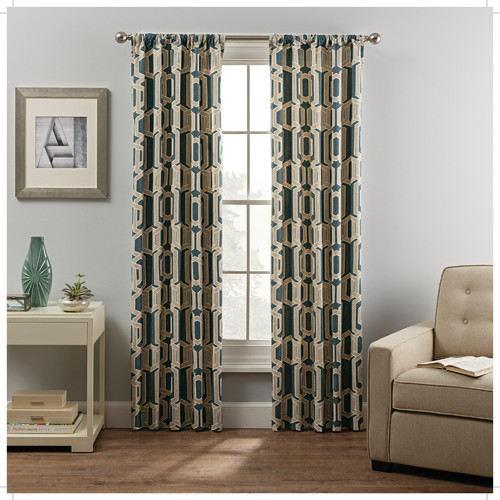 Metropolitan Thermal Lined Curtain Panel Pair