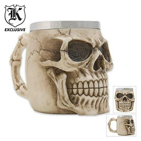 Realistic Fantasy Skull Coffee Mug Tankard