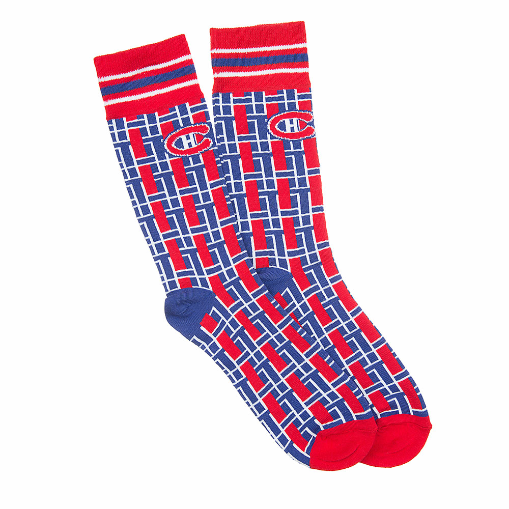 Montreal Canadiens NHL Stylish Team Sock (1 Pair) (S-M)