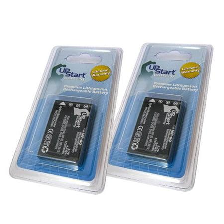 2x Pack - Vertex VX-2R Battery - Replacement for Vertex FNB-82LI Digital Camera Battery (1200mAh, 3.7V, Lithium-Ion) - image 2 de 2