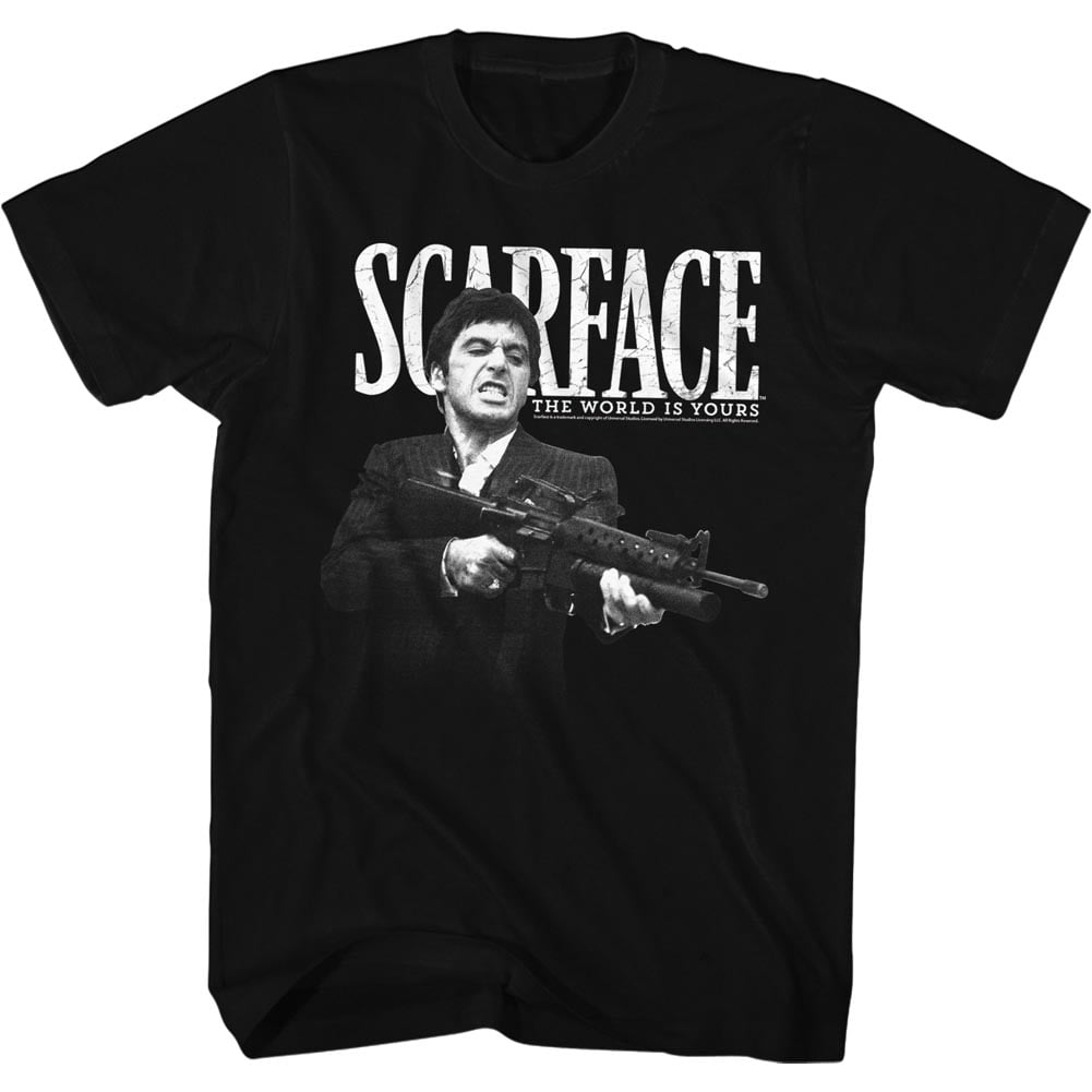 2bhip Scarface The World Is Yours Crime Movie Al Pacino Tony