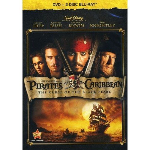 Pirates Of The Caribbean: The Curse Of The Black Pearl (DVD + 2-Disc Blu-ray) (Widescreen)