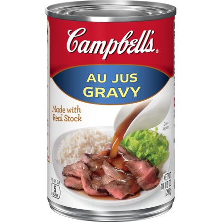 (2 Pack) Campbell's Gravy, Au Jus, 10.5 oz. Can