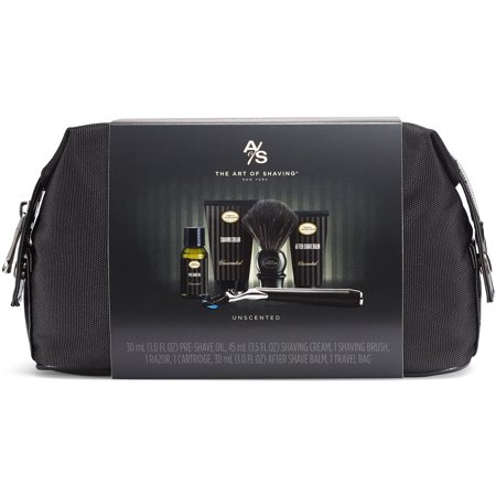 Best The Art of Shaving Travel Shave Kit with Synthetic Brush - Unscented deal