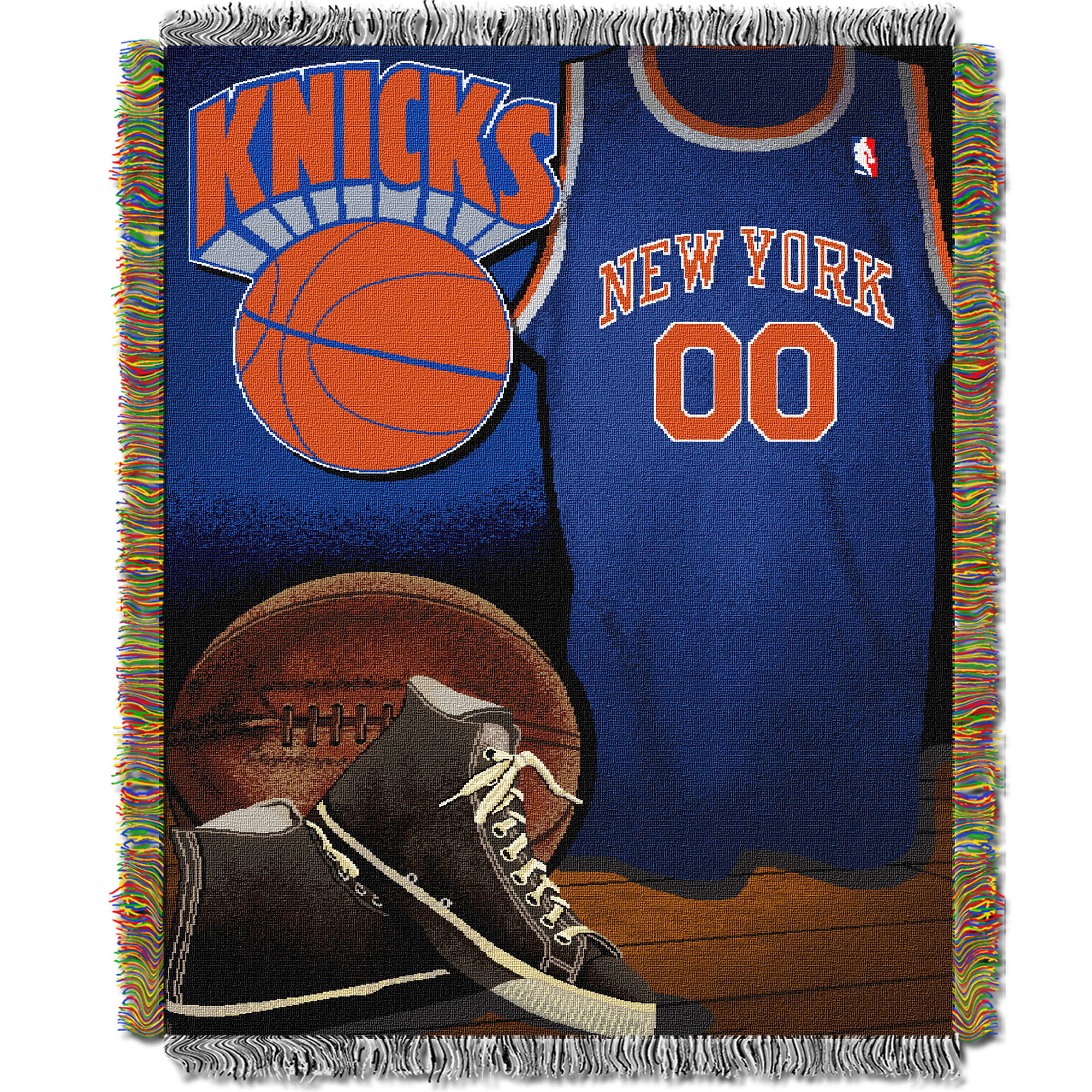New York Knicks The Northwest Company 48'' x 60'' Vintage Woven Tapestry Throw - No Size