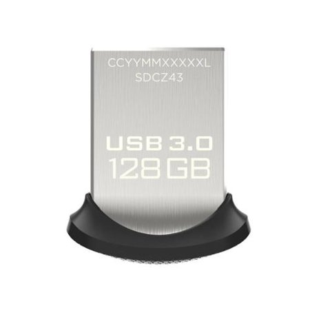 SanDisk Ultra Fit 128GB USB 3.0 Flash Drive (Sandisk Ultra Fit 128gb Usb 3-0 Flash Drive)