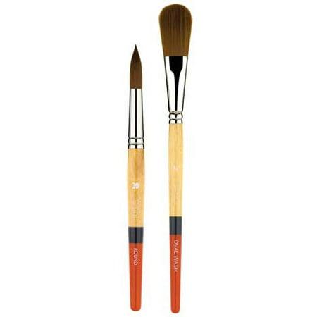 Princeton Art & Brush Co - Snap Gold Taklon Brush - Liner & Wash - Wash - 1