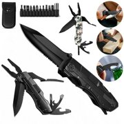 Best Multitools - Multitool Pliers, Outdoor 9-in-1 Pocket Multitool, Multi-Purpose Folding Review