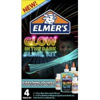 Elmer's Glow In The Dark Slime Kit with Magical Liquid
