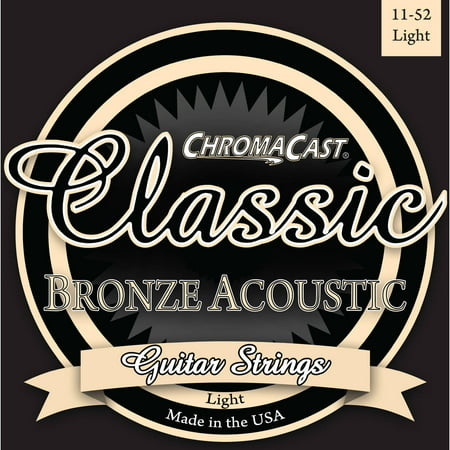 - ChromaCast Classic Bronze Acoustic Guitar Strings