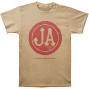 Jefferson Airplane Men's  Bark Over Dyed T-shirt Putty