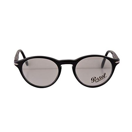 67d6296d09 Persol PO3092V Eyeglasses 46-19-145 Black 9014 PO3092 (FRAME ONLY) -  Walmart.com