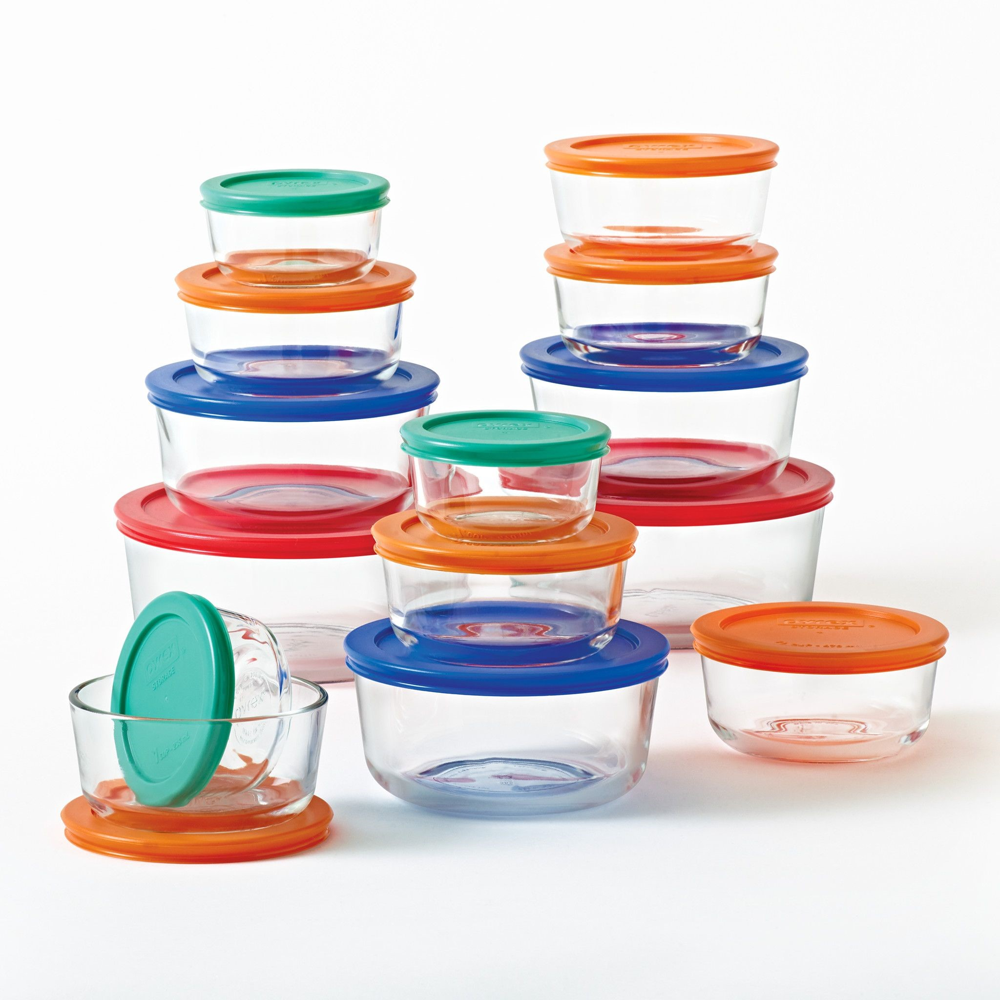 Pyrex simply store Glass storage set, 28 Piece