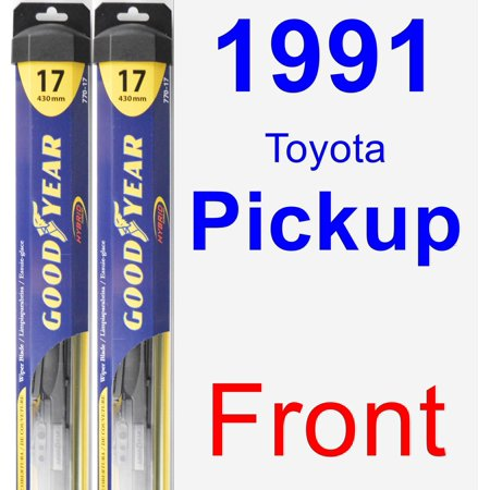 1991 Toyota Pickup Wiper Blade Set/Kit (Front) (2 Blades) - Hybrid