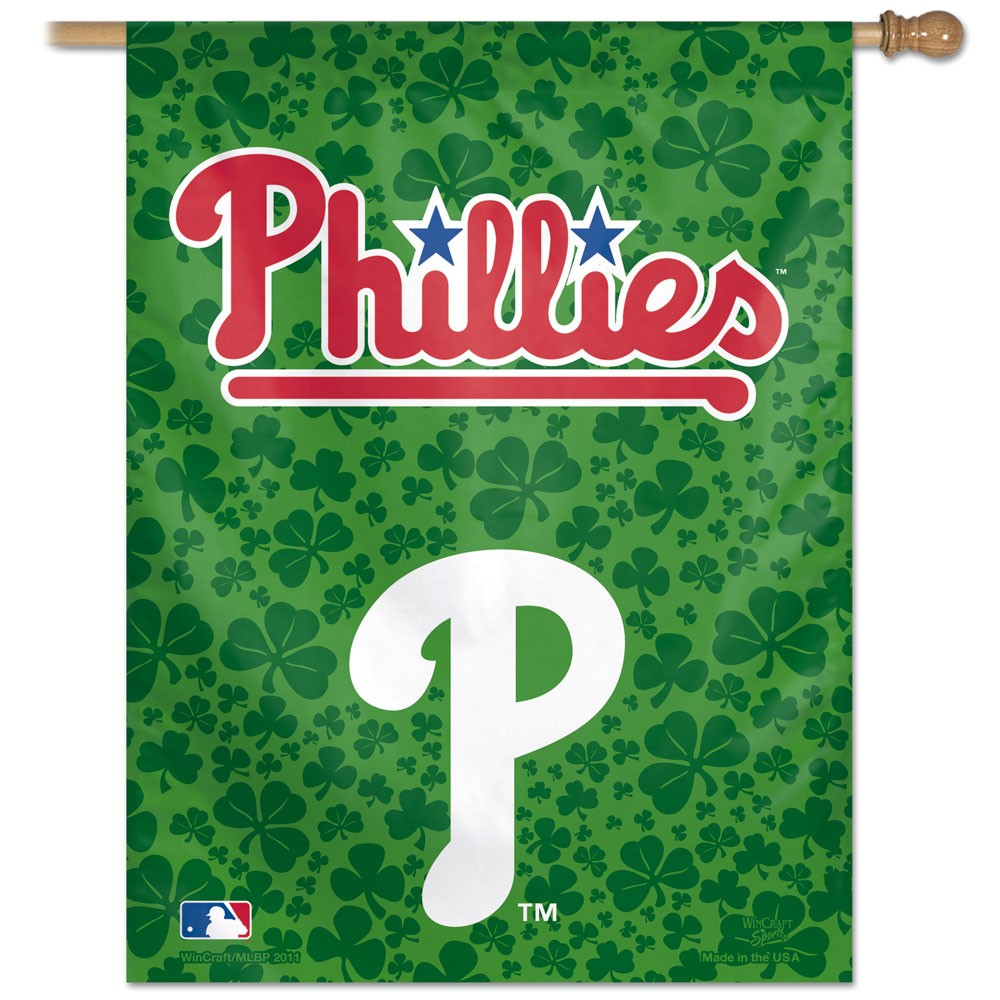 Philadelphia Phillies Official MLB 27 inch x 37 inch  Banner Flag by Wincraft