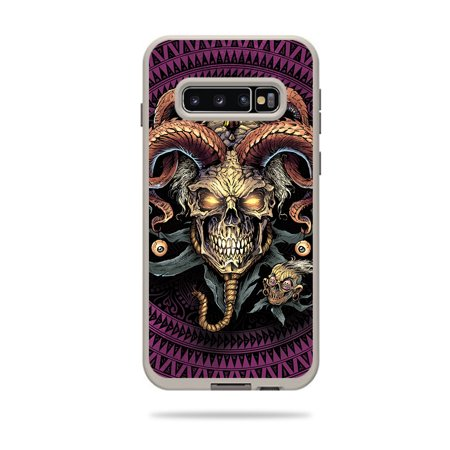 Skin For Lifeproof Fre Case Samsung Galaxy S10+ - Jester Skull | MightySkins Protective, Durable, and Unique Vinyl Decal wrap cover | Easy To Apply, Remove, and Change Styles | Made in the USA](Jester Skull)